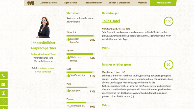 hotelbewertungen plugin wordpress customer alliance trustyou